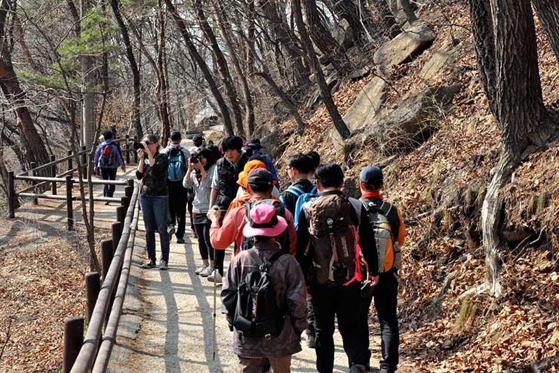 پارک ملی بوکانسان در سئول