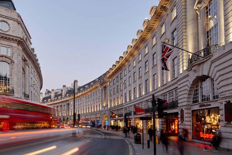 خیابان ریجنت در لندن