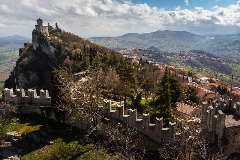 قلعه های سن مارینو