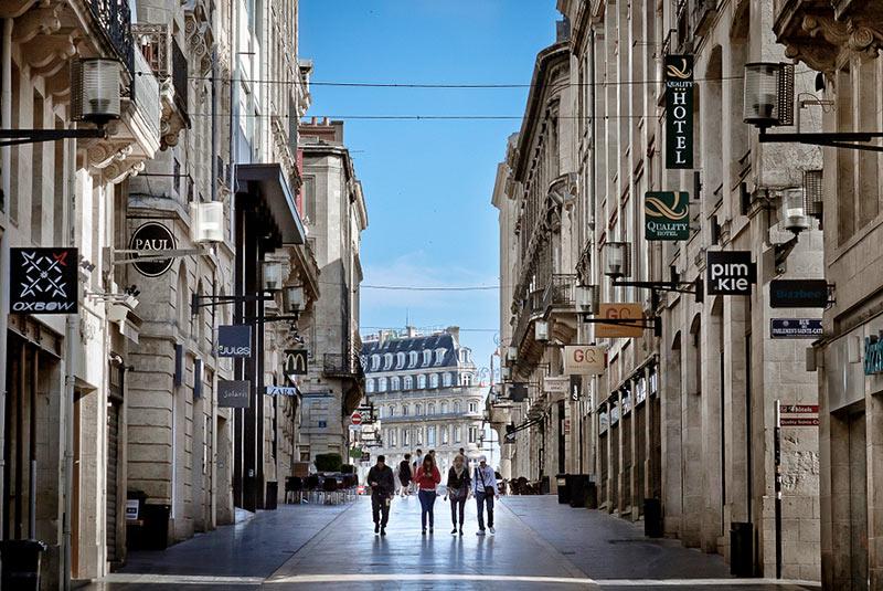 خیابان سن کاترین در بوردو