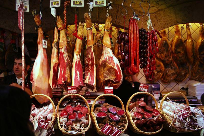 بازار بوکریای بارسلونا