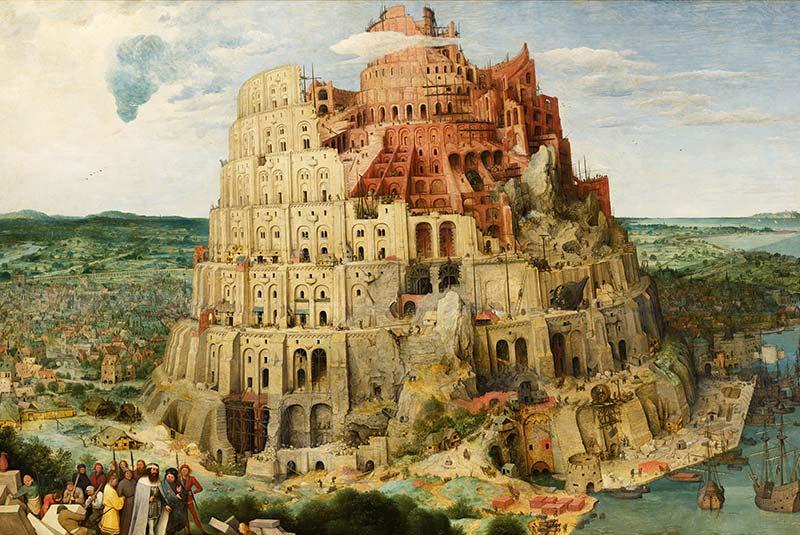 برج بابل-پارلمان اروپا استراسبورگ