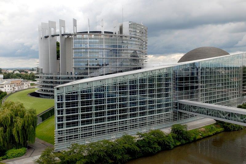 ساختمان پارلمان استراسبورگ
