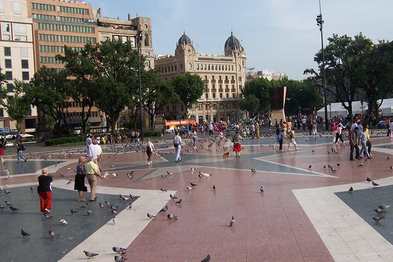 میدان کاتالونیا بارسلونا