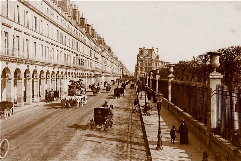 خیابان ریوولی پاریس | فرانسه