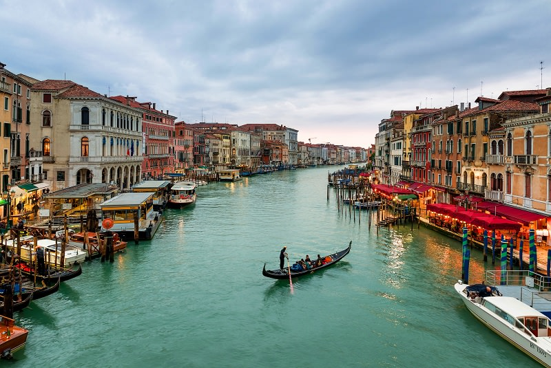 گراند کانال ونیز ایتالیا