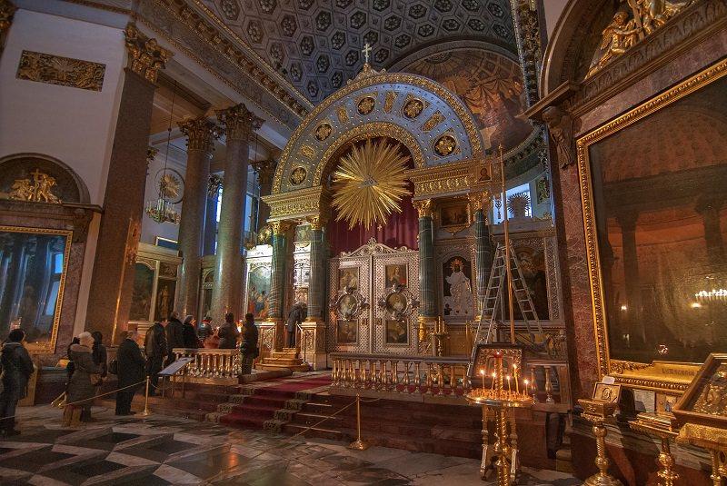 کلیسای کازان سن پترزبورگ