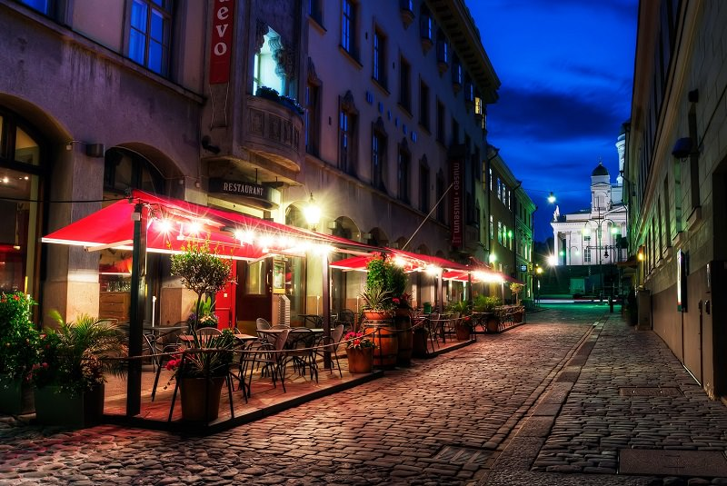 جاذبه های گردشگری هلسینکی
