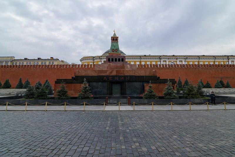 مقبره لنین در مسکو