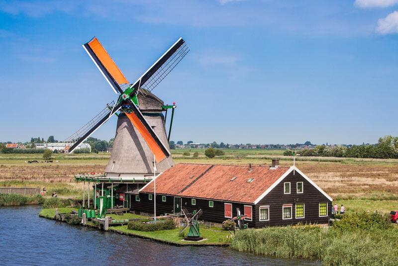 آسیابهای بادی هلند