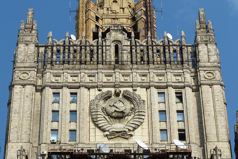 ساختمان وزارت امور خارجه روسیه