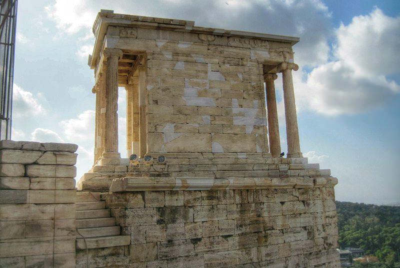 معبد آتنا در آتن