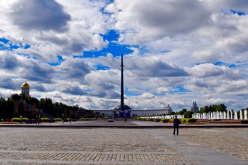 پارک پیروزی مسکو