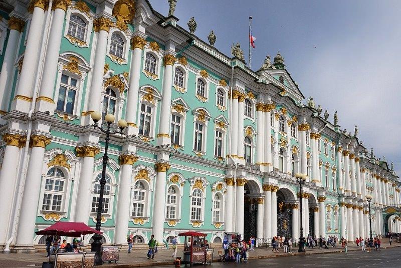 موزه هرمیتاژ سن پترزبورگ - روسیه