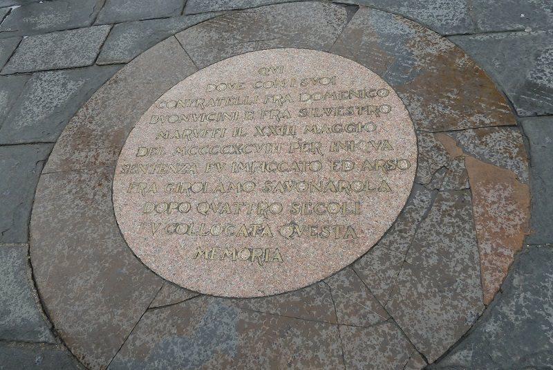 میدان سینیوریا فلورانس