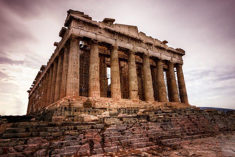 معبد پارتنون آکروپولیس یونان