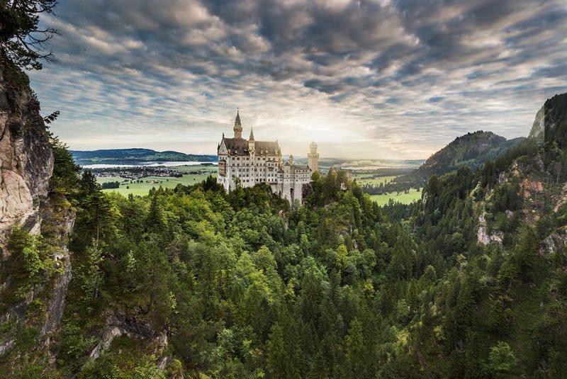 قلعه نوی شوان اشتاین آلمان