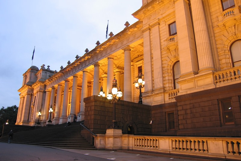 ساختمان پارلمان ملبورن