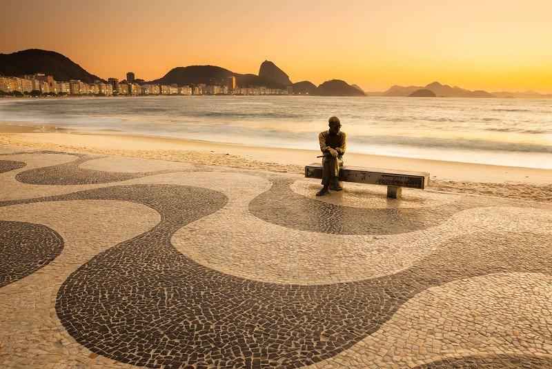 ساحل کوپاکابانا برزیل