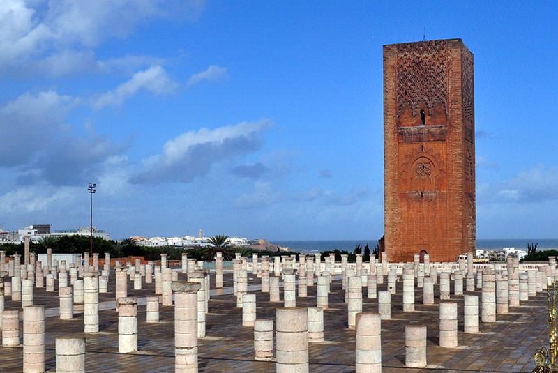 برج حسن رباط مراکش
