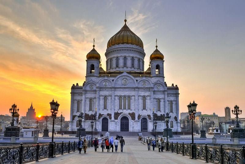 کلیسای منجی مسکو