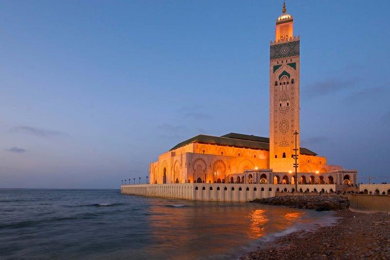 مسجد حسن دوم کازابلانکا - مراکش