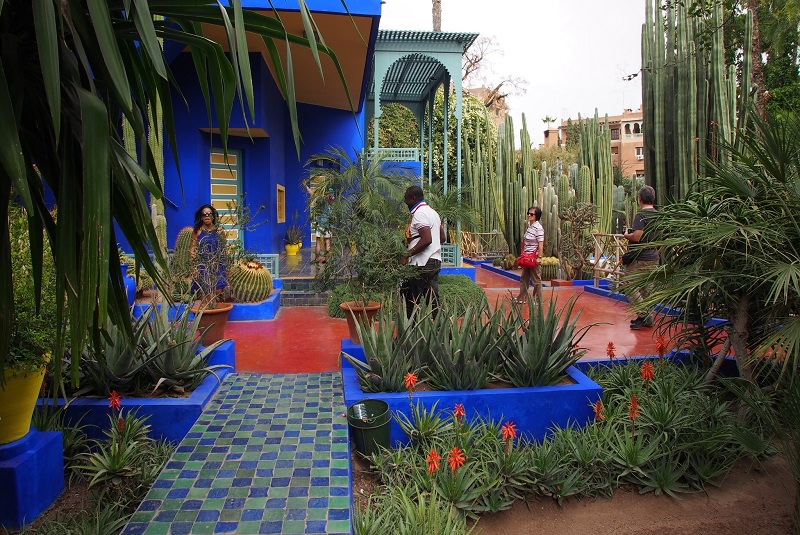 باغهای ماژورل مراکش