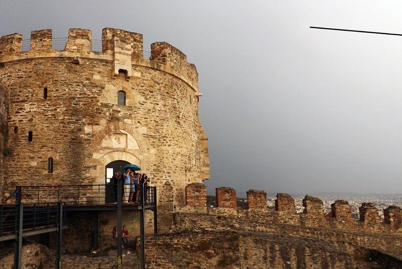 قلعه های تسالونیکی