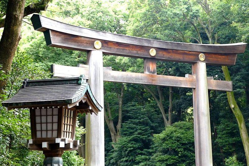 معبد میجی ژاپن