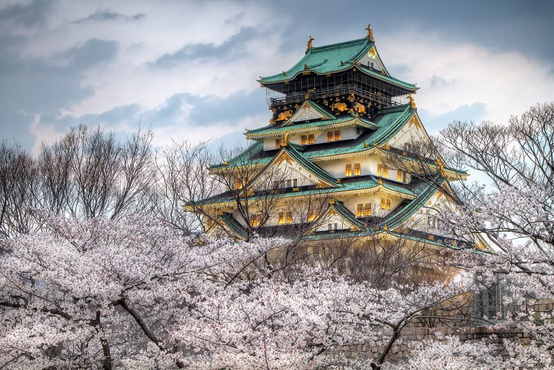 قلعه اوزاکا در ژاپن