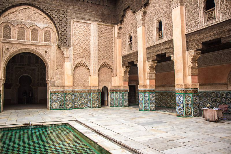 مدرسه بن یوسف مراکش