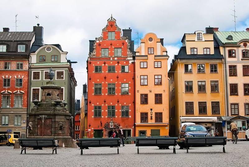 محله قدیمی استکهلم