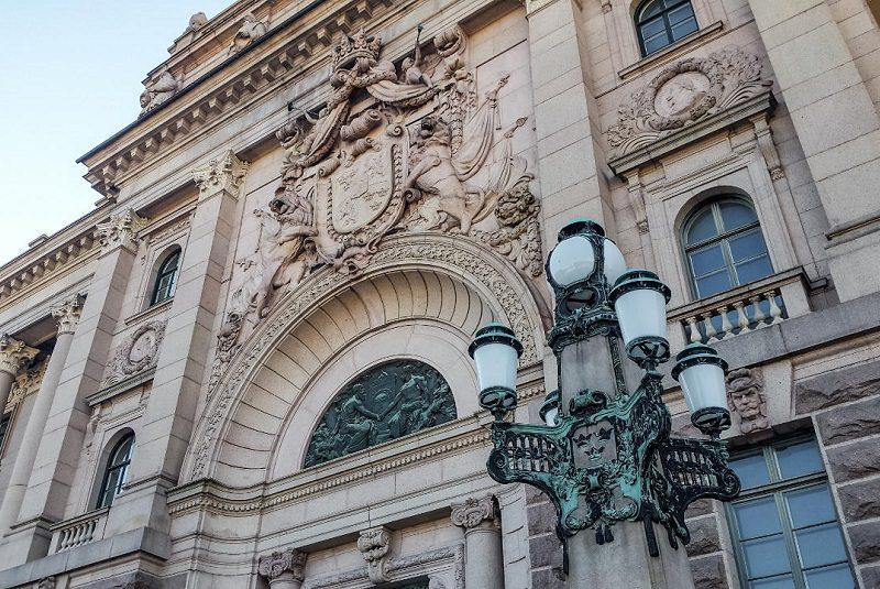 ساختمان پارلمان استکهلم