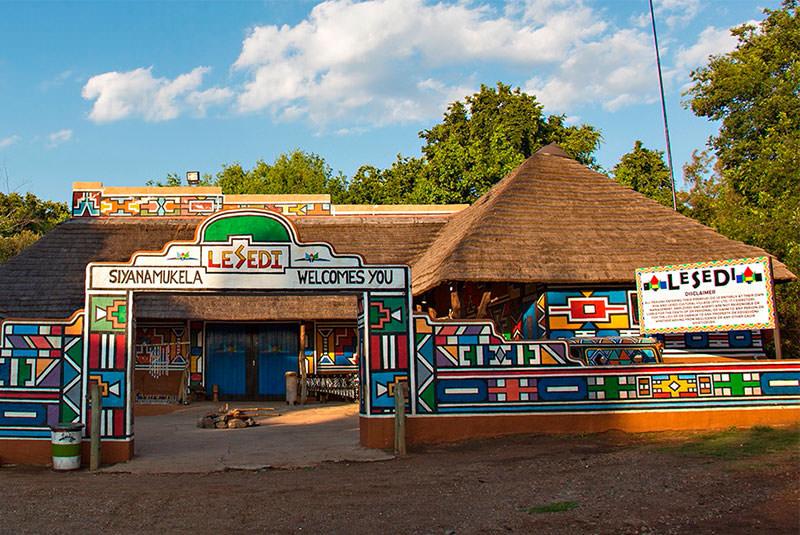 دهکده لسدی در آفریقا جنوبی