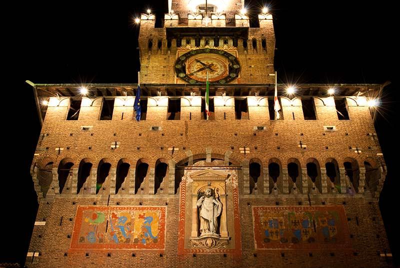 قلعه اسفورزسکو میلان