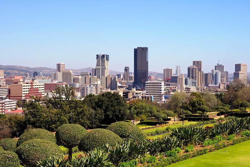 شهر پرتوریا در آفریقای جنوبی