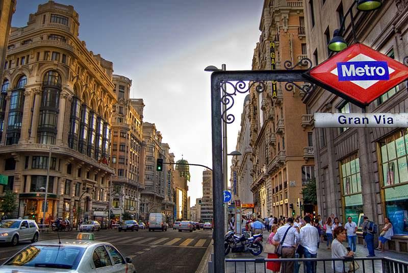 خیابان گران ویا در مادرید