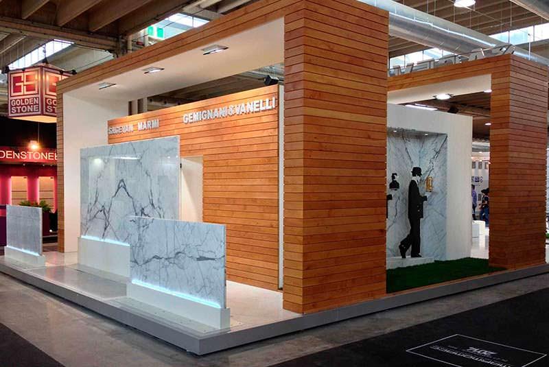 نمایشگاه سنگ مارموماک ایتالیا