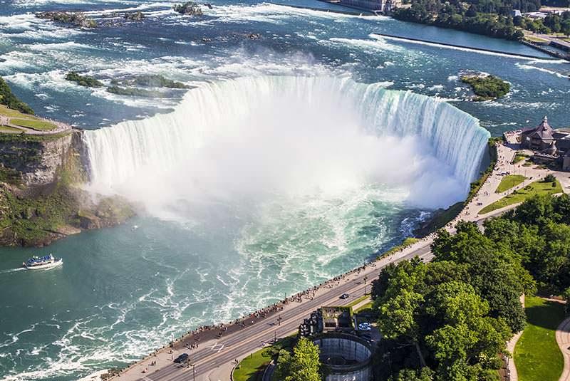 آبشار نیاگارا کانادا (نعل اسبی)
