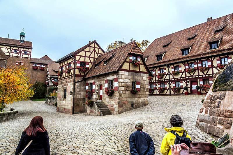 قلعه نورنبرگ در آلمان