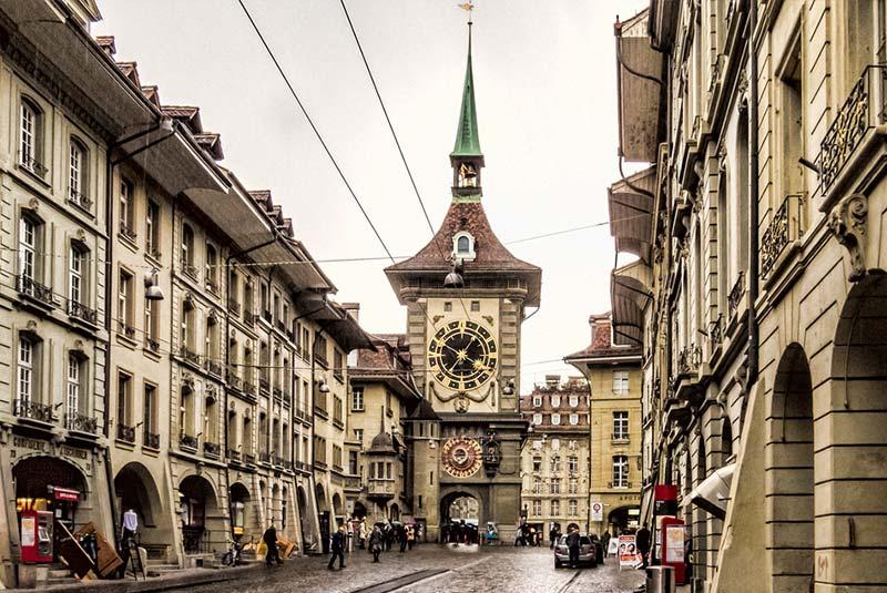 برج ساعت برن - سوئیس