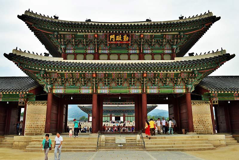 گیونگ بوک گونگ کره جنوبی