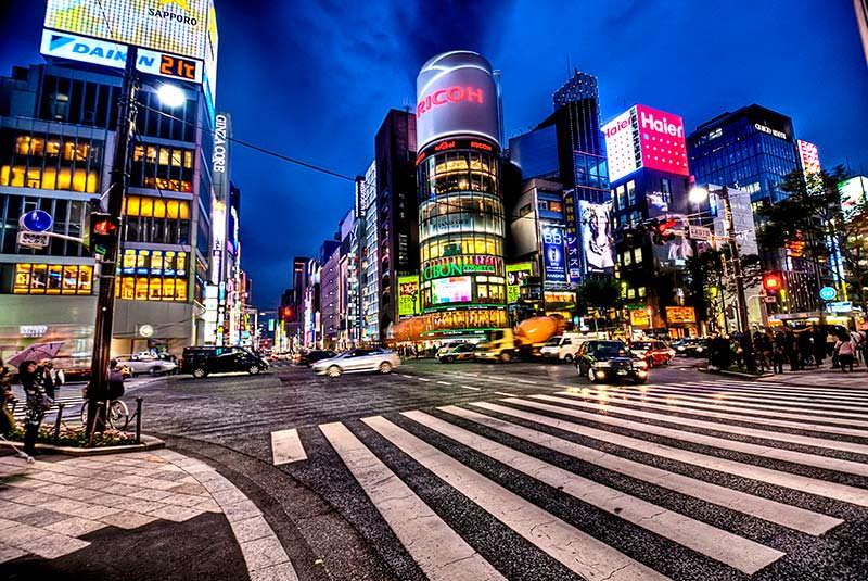 خیابان گینزا توکیو