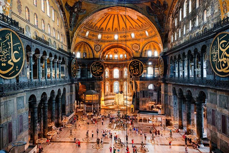 مسجد ایا صوفیه استانبول - ترکیه