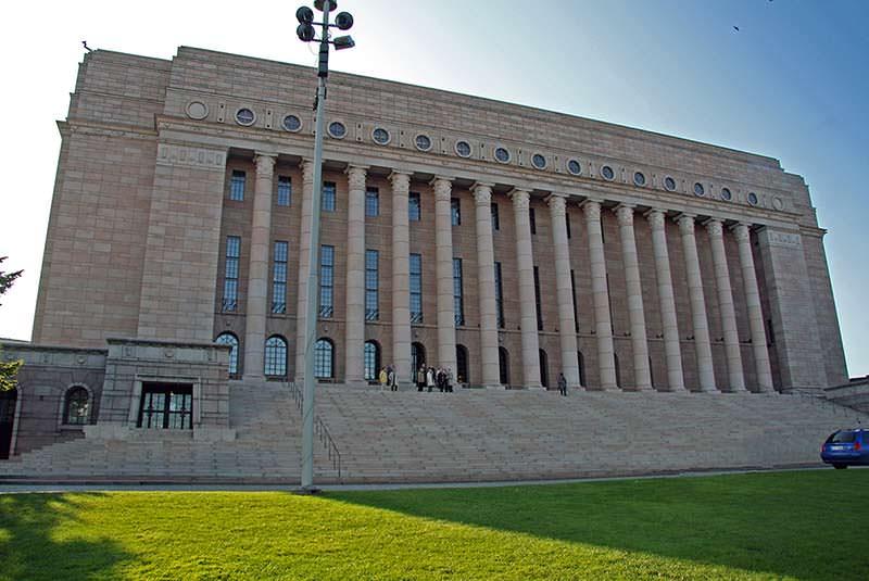 ساختمان پارلمان هلسینکی | فنلاند