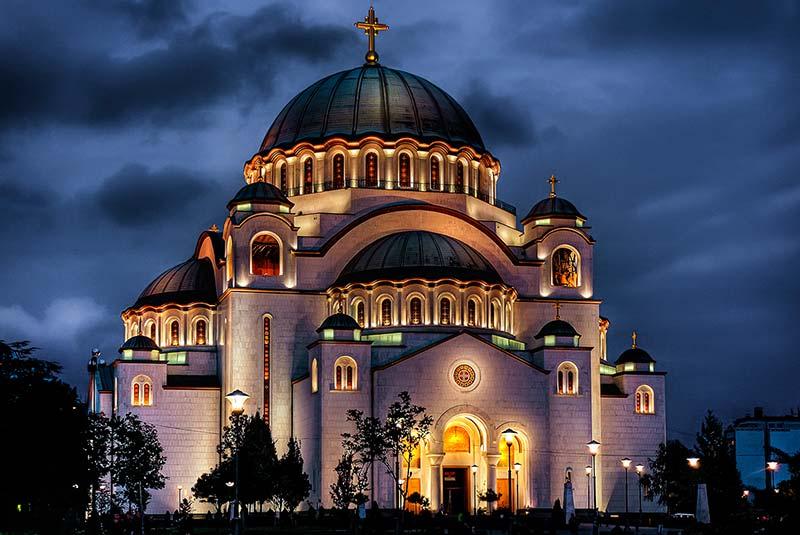 کلیسای سنت ساوا بلگراد | صربستان