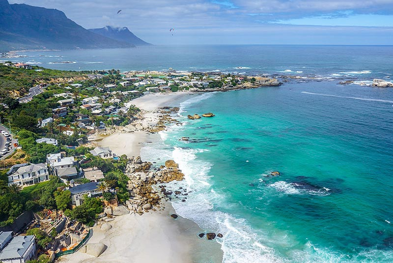 سواحل کلیفتون آفریقای جنوبی