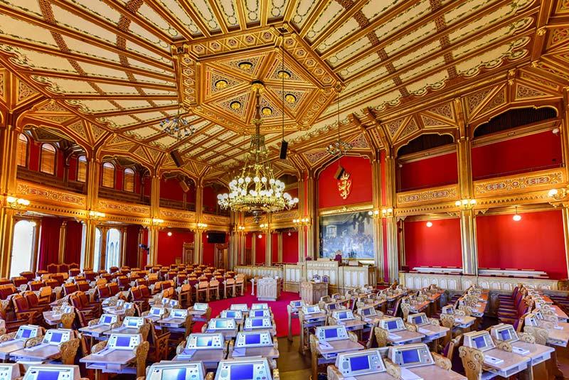 ساختمان پارلمان نروژ