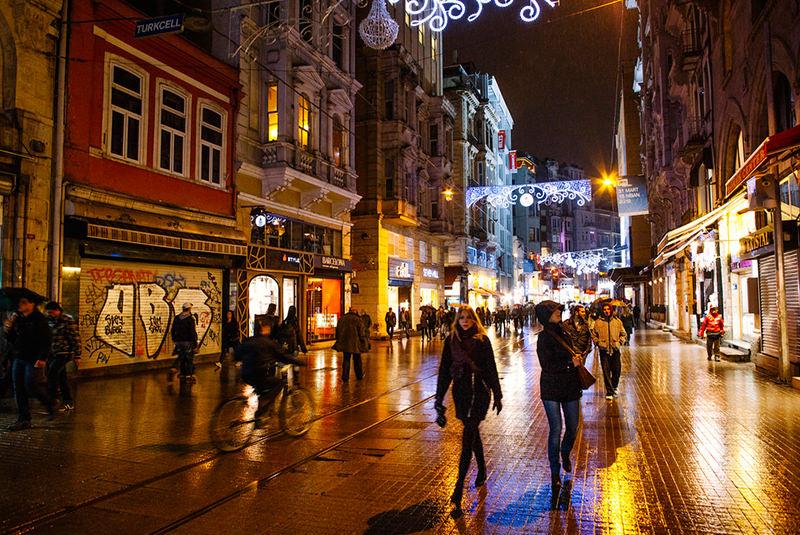 خیابان های خرید استانبول
