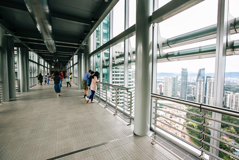 برج های پتروناس در مالزی